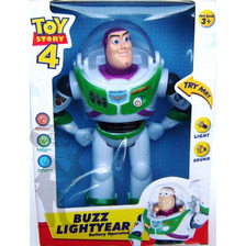 Buzz Lightyear Camina, Sonido Y Luces Toy Story