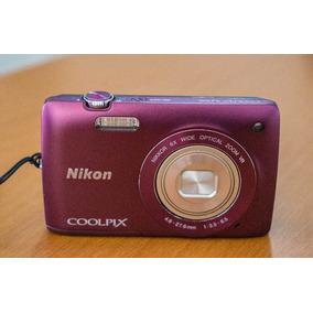 Camara Digital Nikon S4300 Coolpix Como Nueva !