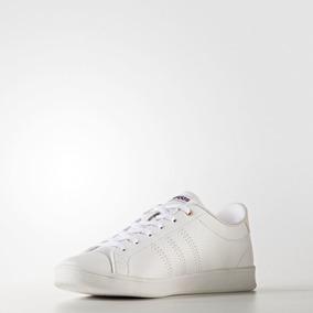 Tenis adidas Advantage Blanco Mujer 100% Originales Bb9611
