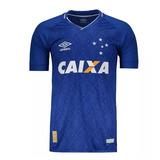 Camisa Umbro Cruzeiro Com Dois Patrocínios Caixa E Umbro ! !
