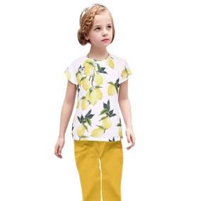 Blusa Limones Para Niña Envío Gratis