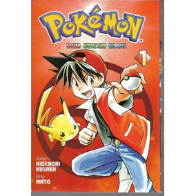 Pokémon: Red, Green & Blue Minissérie/panini - Vol. 1