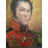 Cuadro De Simón Bolívar Pintado Por Luis Romero Rubio