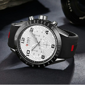 6bf68380fe3ff Relogio Curren Preto E Dourado Em Aço!!! - Relógios no Mercado Livre ...