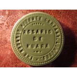 Ficha Salitrera Rosario De Huara Nitrate Company Un $1 Peso