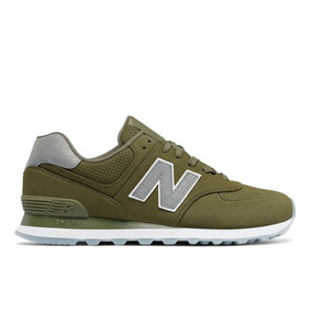 Tênis Casual New Balance 574 Synthetic Masculino Verde