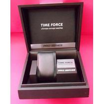 Time Force Estuche Original Para Reloj Fotos Reales