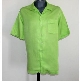 Polo By Ralph Lauren Camisa Caldwell Talla Grande Seda /lino