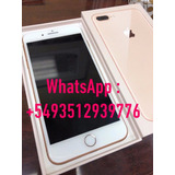 Apple Iphone 8 Plus 256gb 4g Lte 4k Liberados Sellados Envio