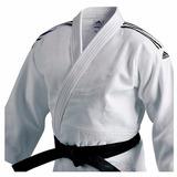 Kimono Judô Training adidas Branco J500 Tam160 Envioimediato