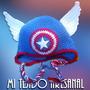 Gorro Capitan America Tejido Artesanal