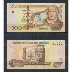 Bolivia 200 Bolivianos 2016 Pick 247 Sin Circular