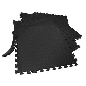 Paquete De Piso Para Gimnasio Soft Eva Foam Rompecabezas 6pz