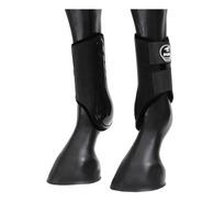 Caneleira Lateral Preta Boots Horse Neoprene 226913