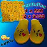 Pantuflas Con Emoticones