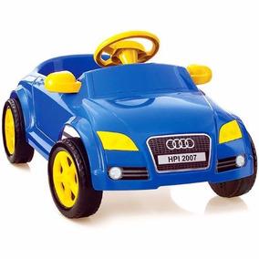 Carro Infantil A Pedal Audi Tt Azul 4042 - Home Play/xplast