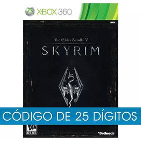 The Elder Scrolls V: Skyrim Xbox 360 Código 25 Dig Envio Já
