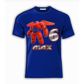 Playera O Camiseta Baymax Big Hero 6 Todas Las Tallas!!