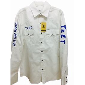 Camisa Vaquera Para Caballero Tret Blanca