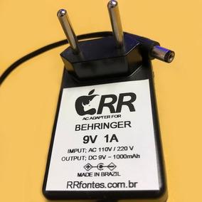 Fonte Carregador Bdi21 P/ Pedal Behringer V-tone Bdi 21 9v