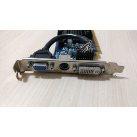 Placa De Vídeo Geforce 7200gs 256mb Zogis Pci-e