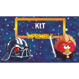 Angry Birds Star Wars Kit Imprimbible Personalizado