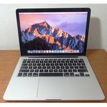 Macbook Pro Me864ll/a 13 Retina I5 2.4ghz 4gb Ssd-128gb