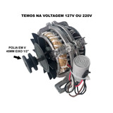 Motor Elétrico P/ Tanquinhos C/polia (novo)mod.1/4hp