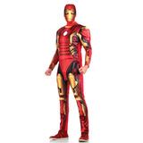 Fantasia Homem De Ferro Adulto - Vingadores