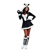 Disfraz Traje Del Bebé Del Oso De Panda De La Dreamgirl Muj