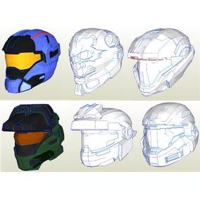 Casco Halo Papercraft