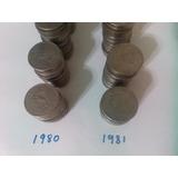 Moneda 5 Cinco Pesos Quetzalcoatl 1980 1981