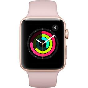 Relógio Apple Watch S3 Sport 42mm Mql22ll/a Rosa Novo