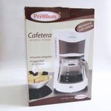 Cafetera Eléctrica Premium 12 Tazas Blanca Excelente Calidad