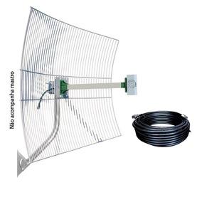Sme Antena Celular 22 Dbi 1800 A 2100 M + Cabo 20 Mt Rgc213