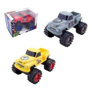 Caminhonete Vingadores Carrinho Infantil Monster Truck Luxo