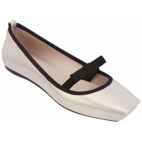 Sapatilha Melissa Ballet Bow - 31676 - Original