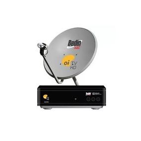 Oi Tv Livre Hd Com Antena Ku 60cm Lnb Ns1030 Sem Mensalidade