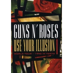 Dvd Guns N Roses - Use Your Ilusion I (lacrado).