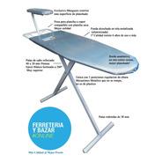 Tabla Planchar Plegable Reforzada Oferta Funda Aluminizada