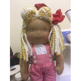 Boneca De Pano Inspirada Na Pedagogia Waldorfa