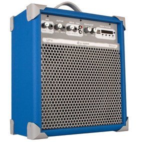 Caixa Multiuso Bluetooth 55 Watts Azul Up 8 Ll Audio