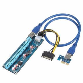 Riser Pci Express X1 A X16 V 006c Usb 3.0 Btc Eth Rig Nuevo