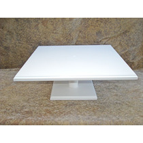 Alzada Porta Torta 45 X 45 Cm. Fibrofacil Bandeja Madera