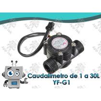 Caudalímetro Sensor Flujo Agua Líquido 1 A 30l Arduino Yf-g1