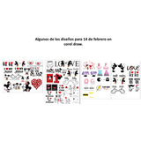 Pack Sublimacion, Imagenes Enamorados, Amor, 14 De Febrero