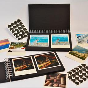 Album Para Fotos Polaroid Ou Instagram Com Cantoneiras
