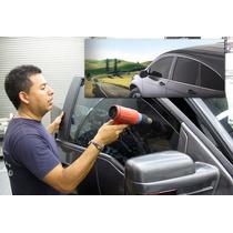 Pelicula Antiasalto Instalada En Auto 4 Pta Calidad American