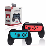 Control Grips Para Nintendo Switch Joy-con Pack Negro
