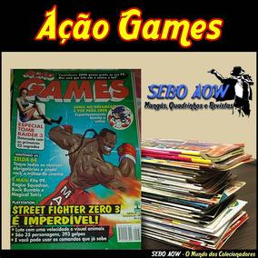 Revista Ação Games - Varias Edições - Compre 3 Leve 4